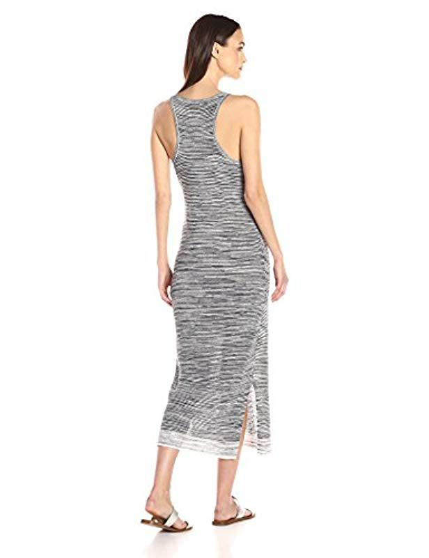ec844229bc Lyst - Theory Intrella Space Dye L Dress in Gray - Save 65.76271186440678%