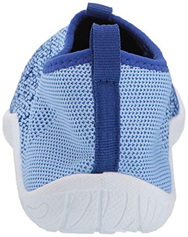 7606f736642a Lyst - Speedo Surf Knit (frost Grey flame) Women s Slip On Shoes in Blue