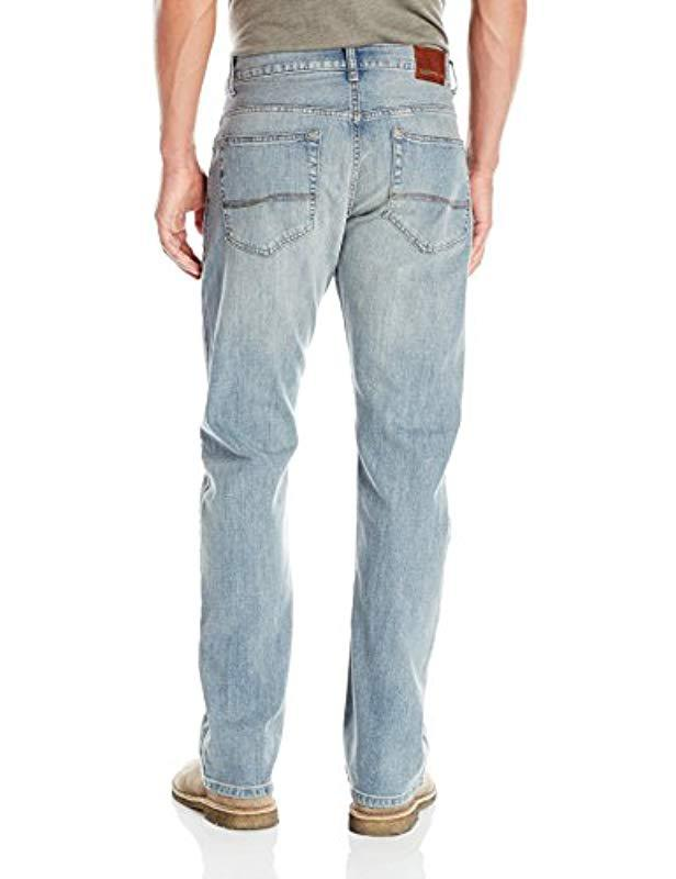 76e30435cd2 Lyst - Lee Jeans Modern Series Relaxed Fit Bootcut Jean in Blue for Men -  Save 8%
