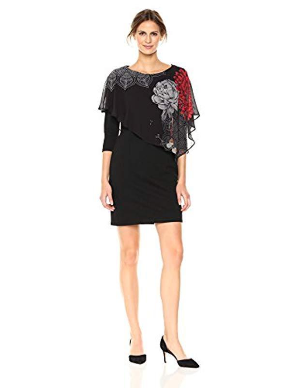 Lyst - Desigual Vest_alexandre Dress in Black