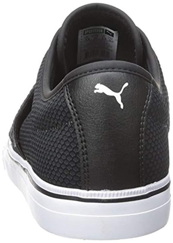f7db3cab4e6c08 PUMA - Black El Ace Textured Fashion Sneakers for Men - Lyst. View  fullscreen