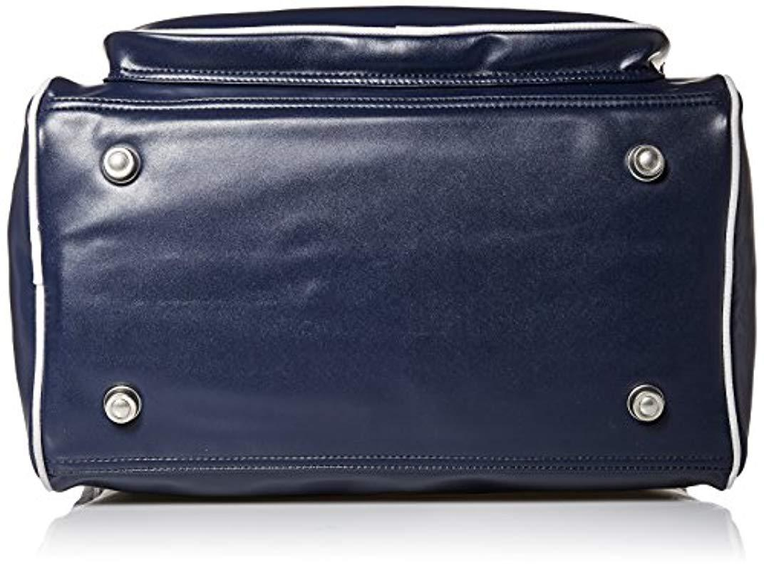 Fred Perry Vintage Tennis Homme Holdall Bleu