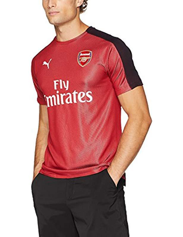 8de74e49f59 PUMA Arsenal Fc Stadium Jersey Ss With Epl Sp in Red for Men - Lyst