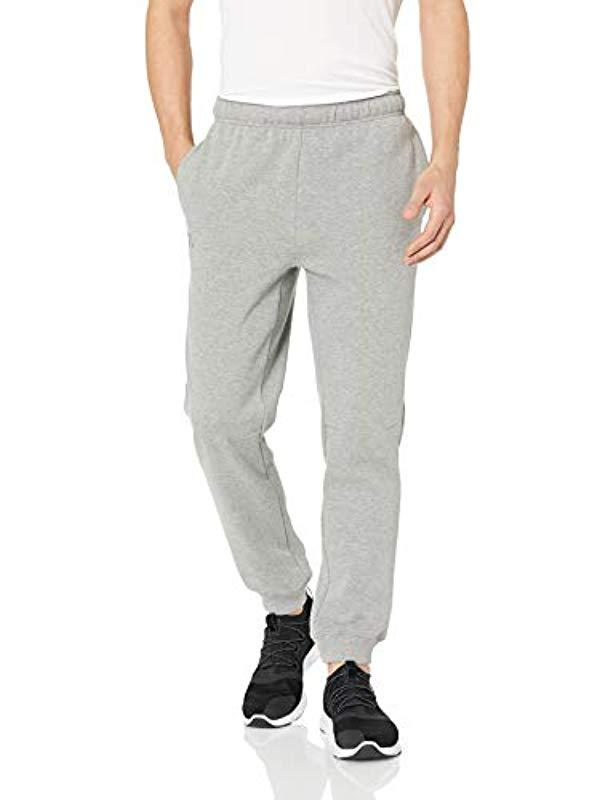 Exclusive Starter Mens Jogger Sweatpants with Pockets Vapor Grey Heather with Embroidered Logo Large//Long
