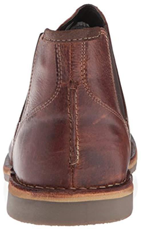a3e754482d3 Steve Madden - Brown Horus Chelsea Boot for Men - Lyst. View fullscreen