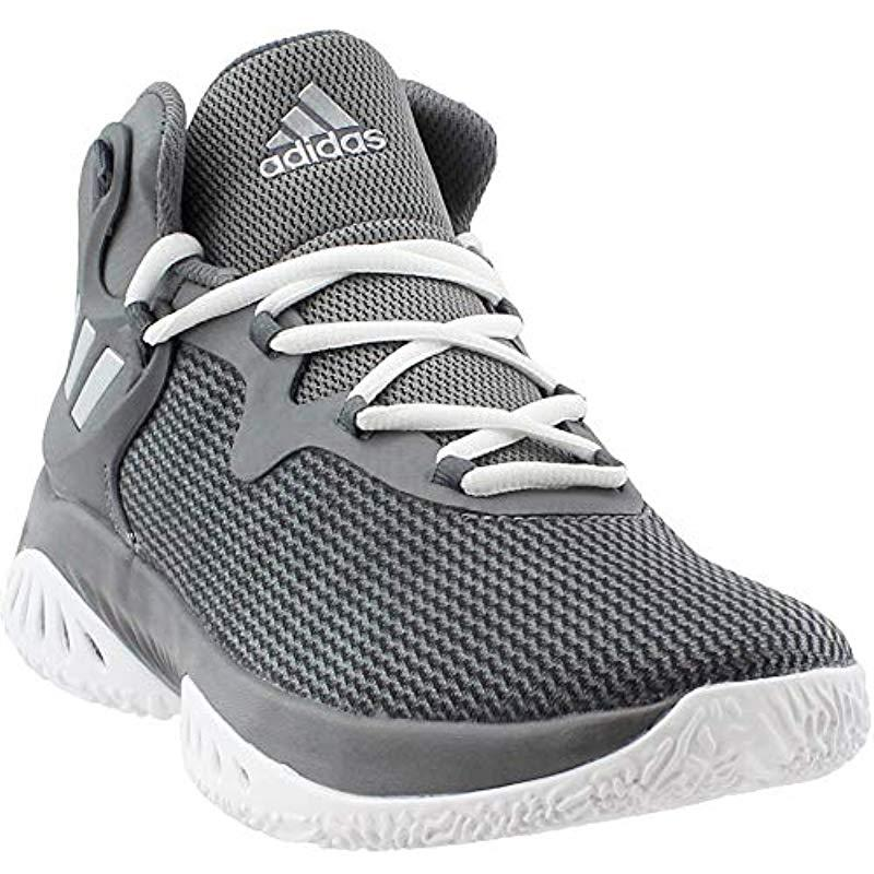 9a8a15823 Lyst - adidas Explosive Bounce Running Shoe in Gray for Men