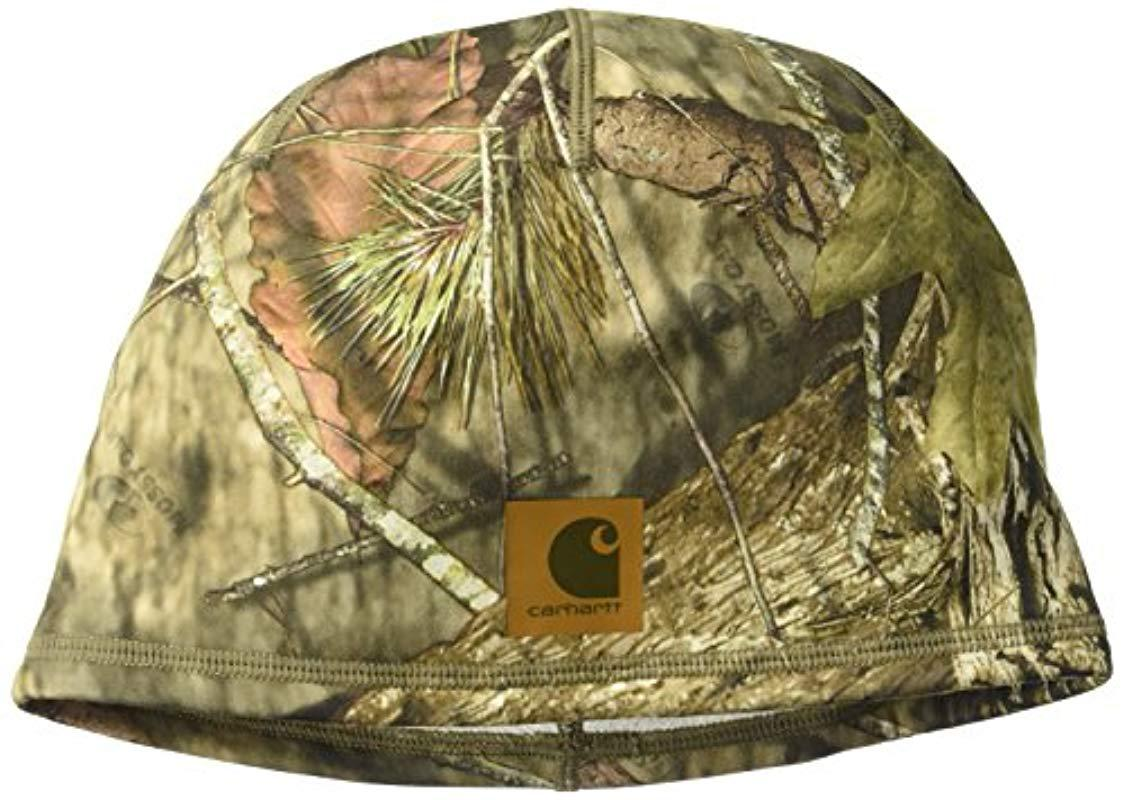1d184a139bf Lyst - Carhartt Force Lewisville Camo Hat in Green for Men