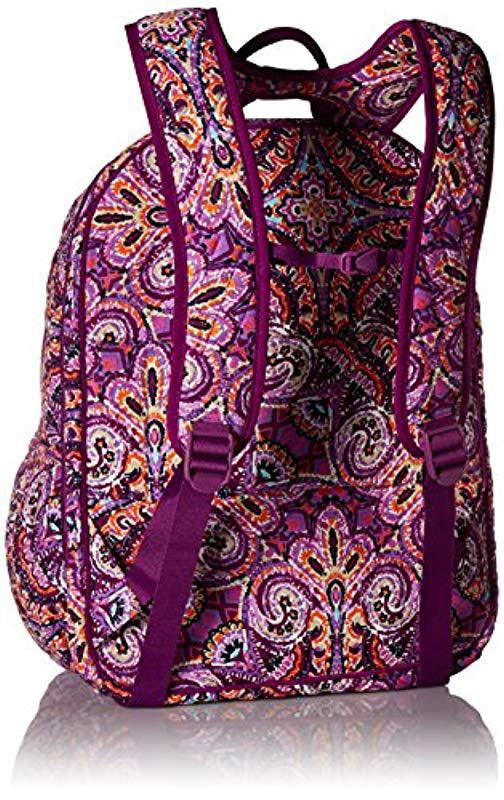 d2618489f4ad Vera Bradley - Multicolor Iconic Xl Campus Backpack