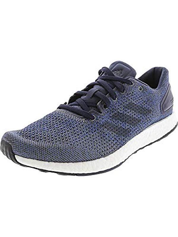 de016977fcf5e Lyst - adidas Pureboost Dpr Running Shoe in Blue for Men - Save 31%
