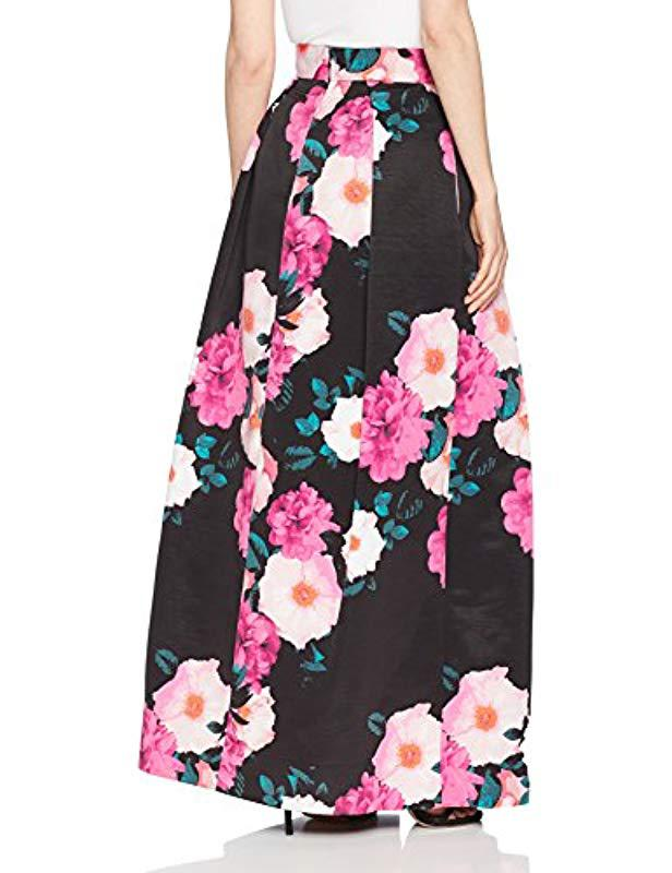 Lyst Eliza J Floral Separate Ballgown In Pink Save