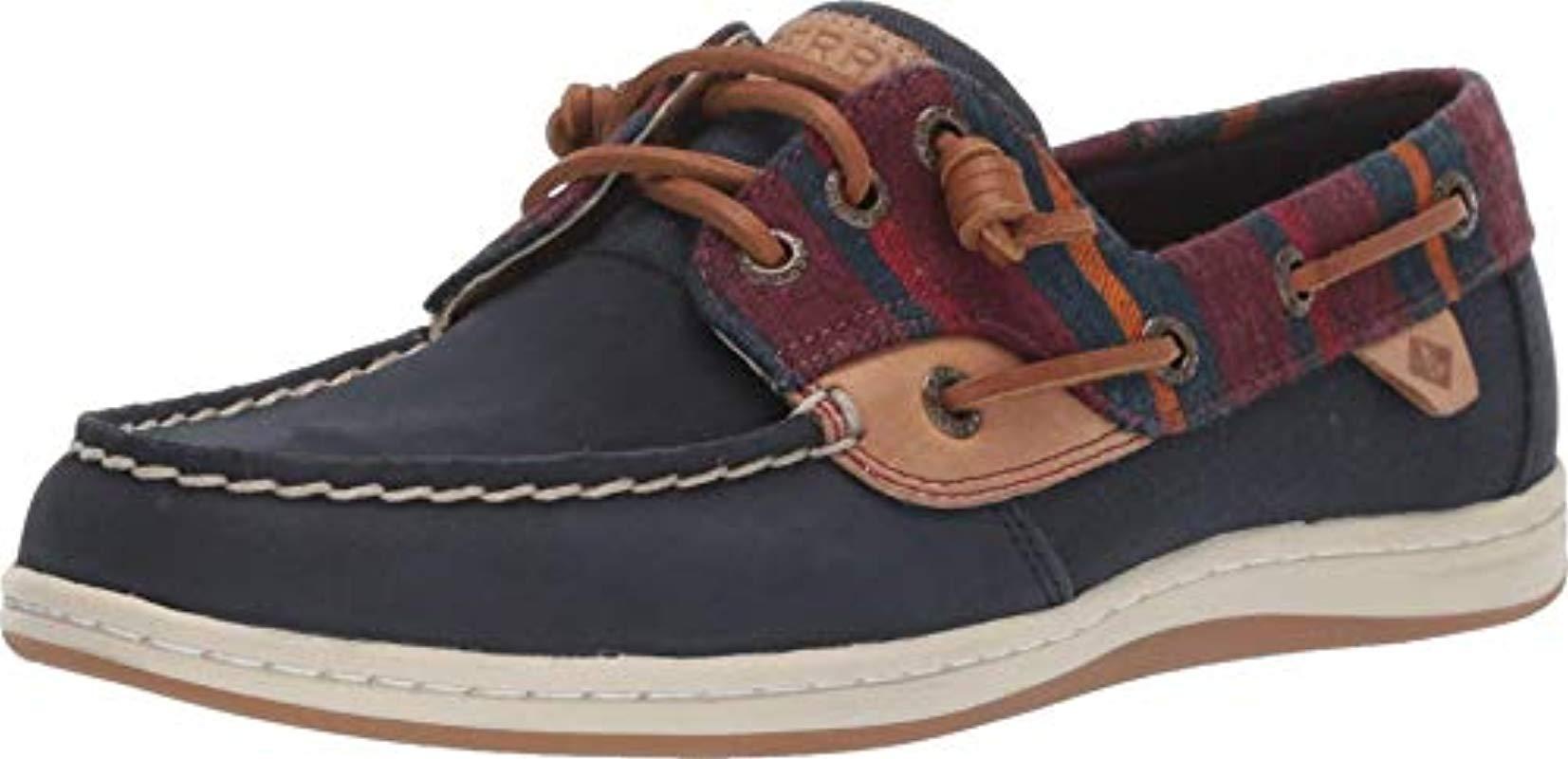 Songfish Varsity Wool Boat Shoes