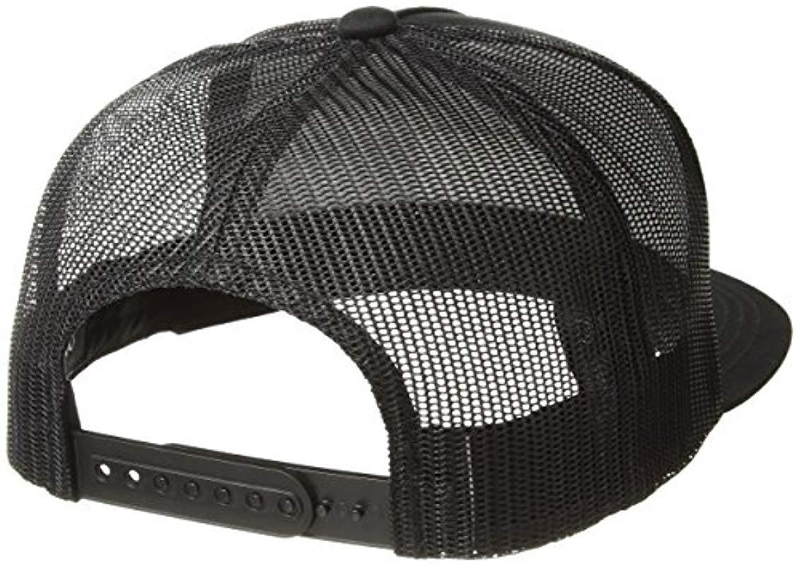 Brixton - Black Palmer Medium Profile Adjustable Mesh Hat for Men - Lyst.  View fullscreen 2dd849d2d29e