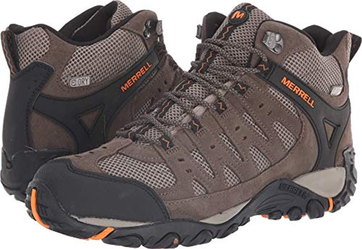 86dd03374ad Merrell Multicolor Accentor Mid Vent Waterproof Hiking Boot for men