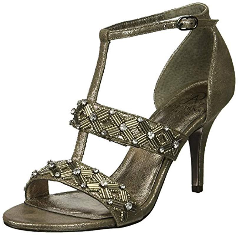 e3531a935a03 Lyst - Adrianna Papell Amabel Heeled Sandal - Save 72%