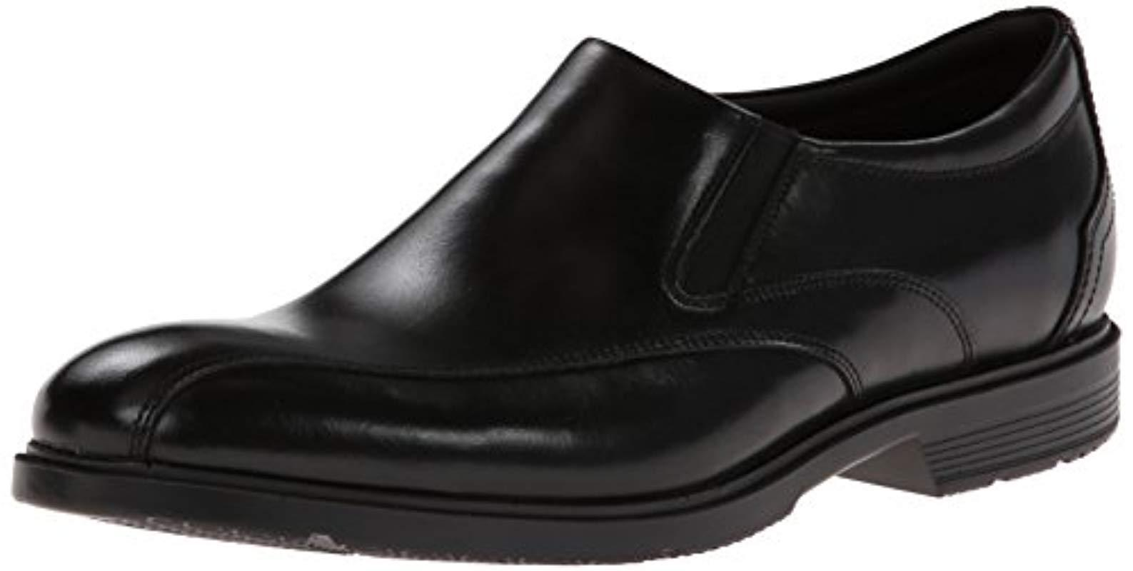 644e19c882a Rockport - Black City Smart Bike Toe Slip-on Loafer for Men - Lyst. View  fullscreen