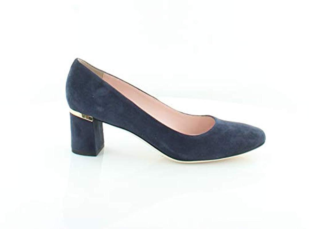 11b291f655d Lyst - Kate Spade Dolores Pump in Blue - Save 13.125%