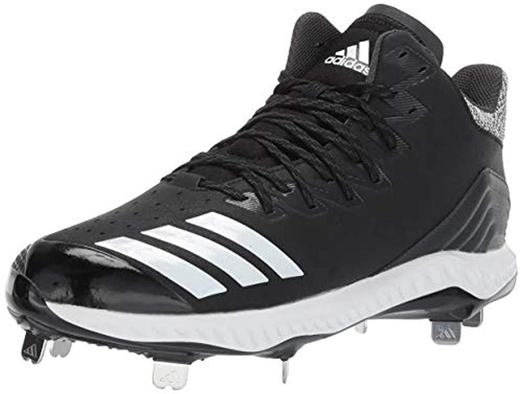 2ed3eebe15ca7 Lyst - adidas S Icon Bounce Mid in Black for Men
