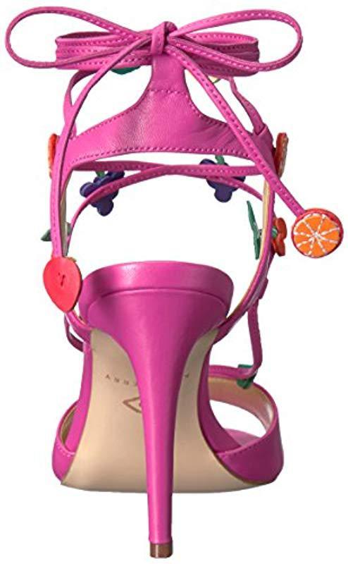adc91d217b12 Katy Perry - Pink Carmen Heeled Sandal - Lyst. View fullscreen