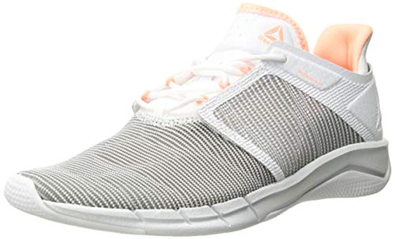 df5db50e1d805c Lyst - Reebok Fast Flexweave Running Shoe in White