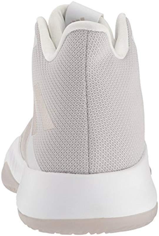 san francisco 3f7f3 33fda Adidas - White Mad Bounce Basketball Shoe for Men - Lyst. View fullscreen