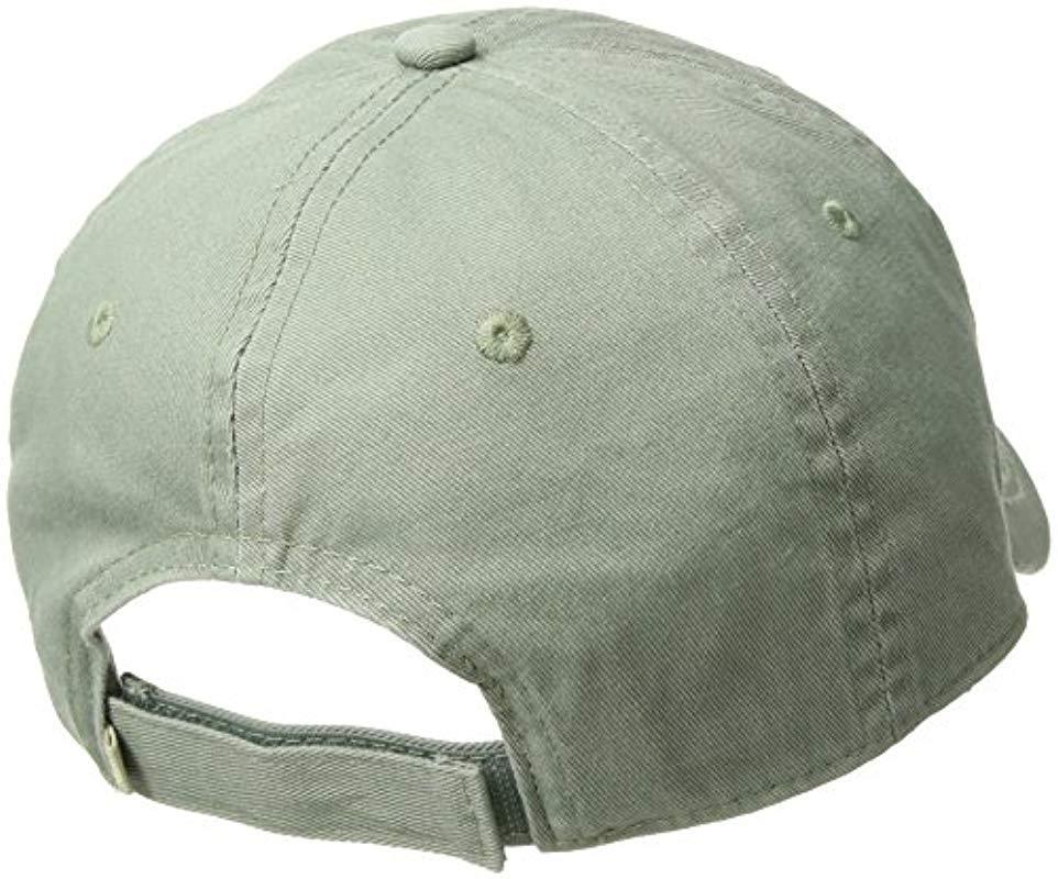 5293f2f5f97 Roxy - Green Dear Believer Baseball Hat Size for Men - Lyst. View fullscreen