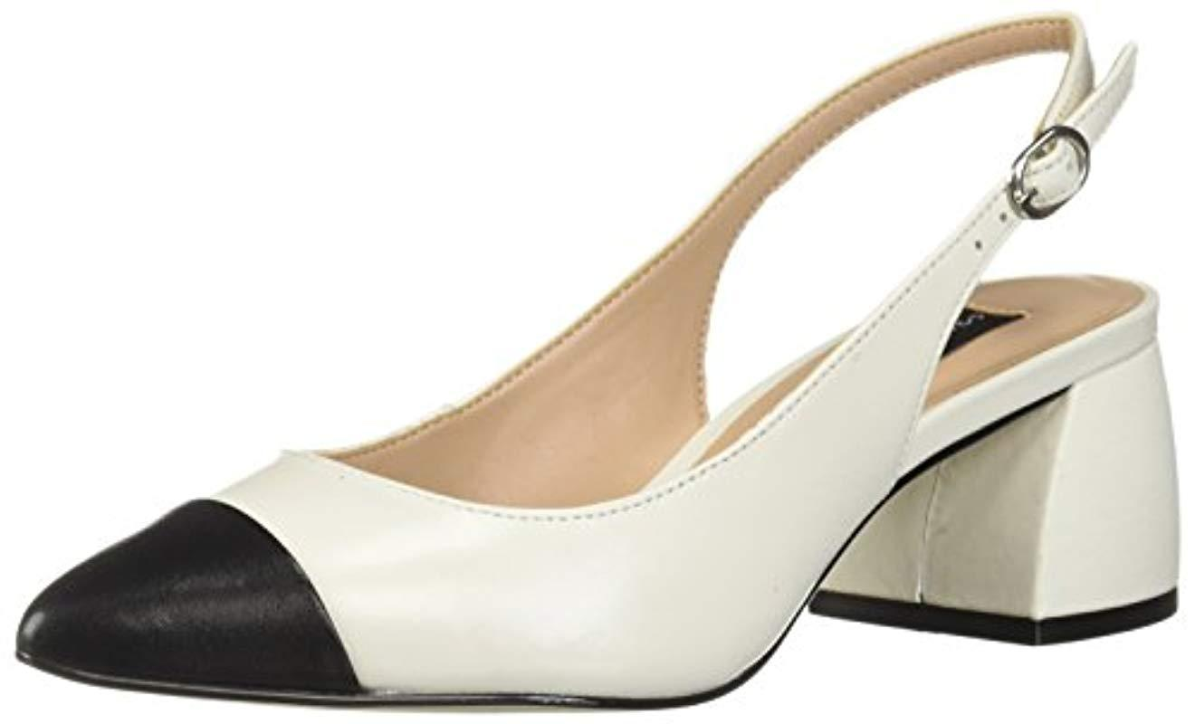 4ae76c1cb11 Lyst - Steven by Steve Madden Agent Pump in White - Save 62%