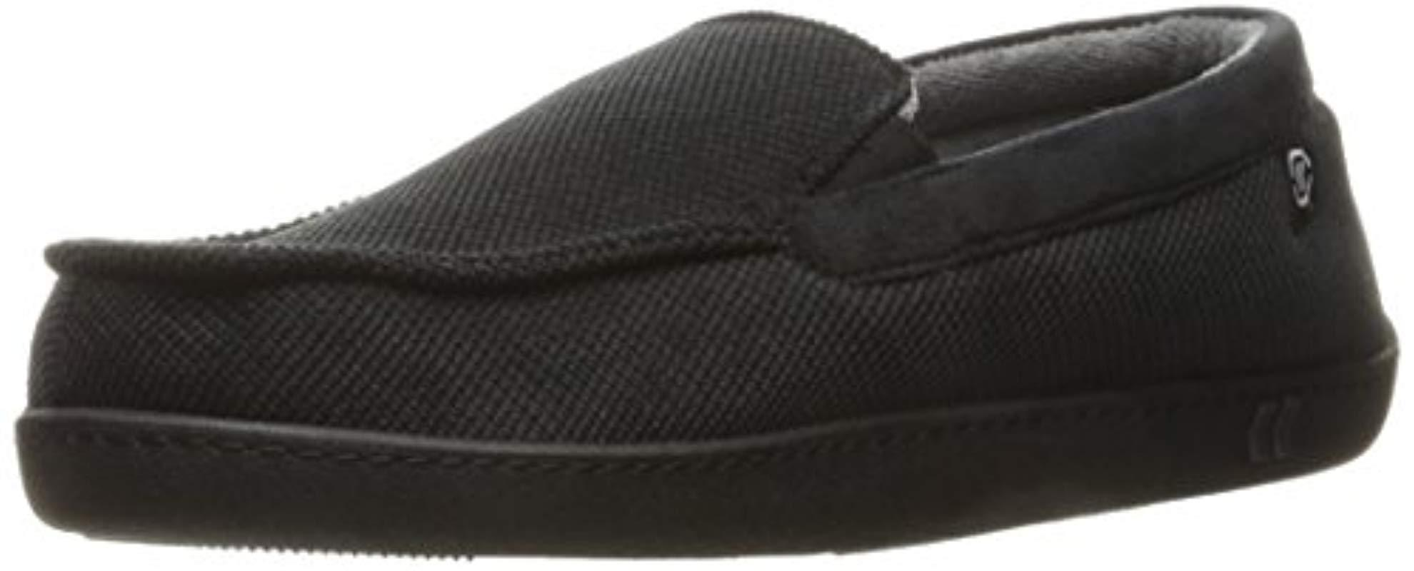 7b3131d799 Lyst - Isotoner Diamond Corduroy Moccasin Slipper With Cooling ...