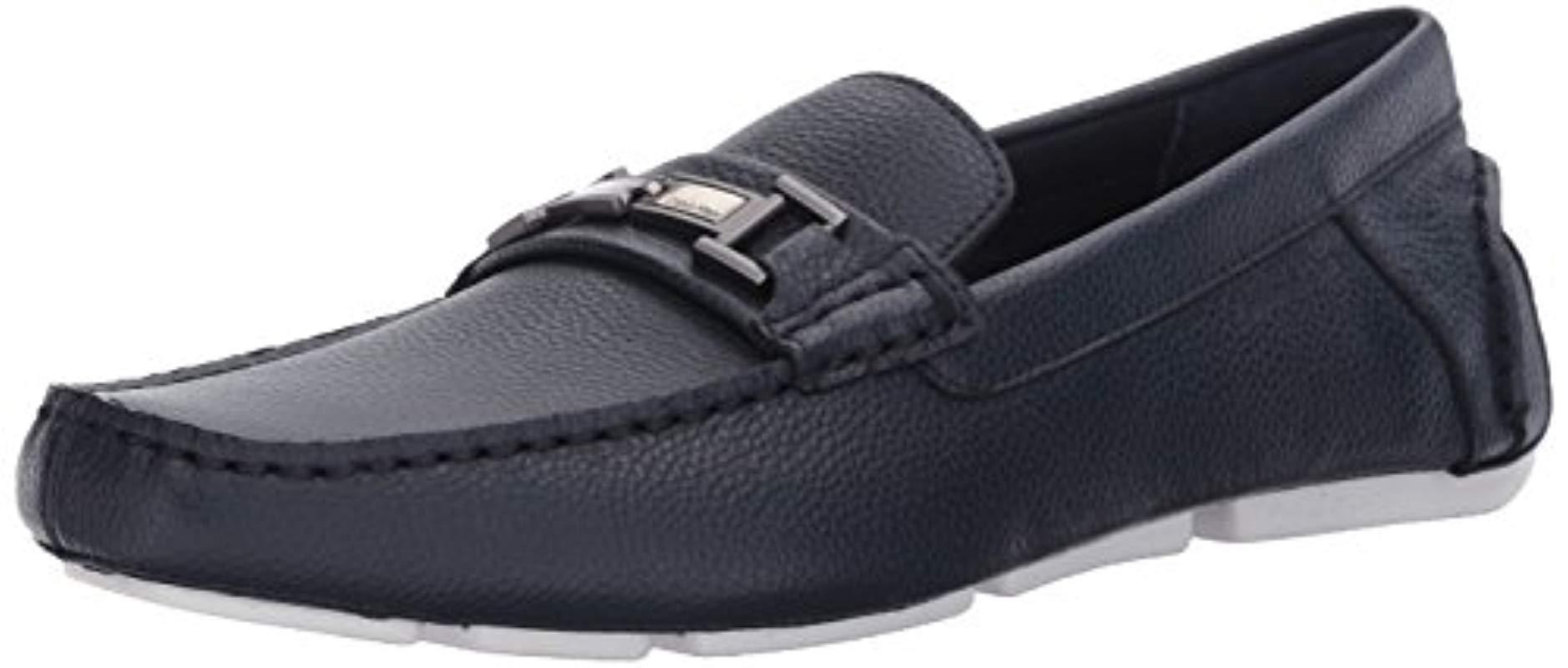 edcc618c741 Lyst - Calvin Klein Magnus Slip-on Loafer in Blue for Men - Save 55%