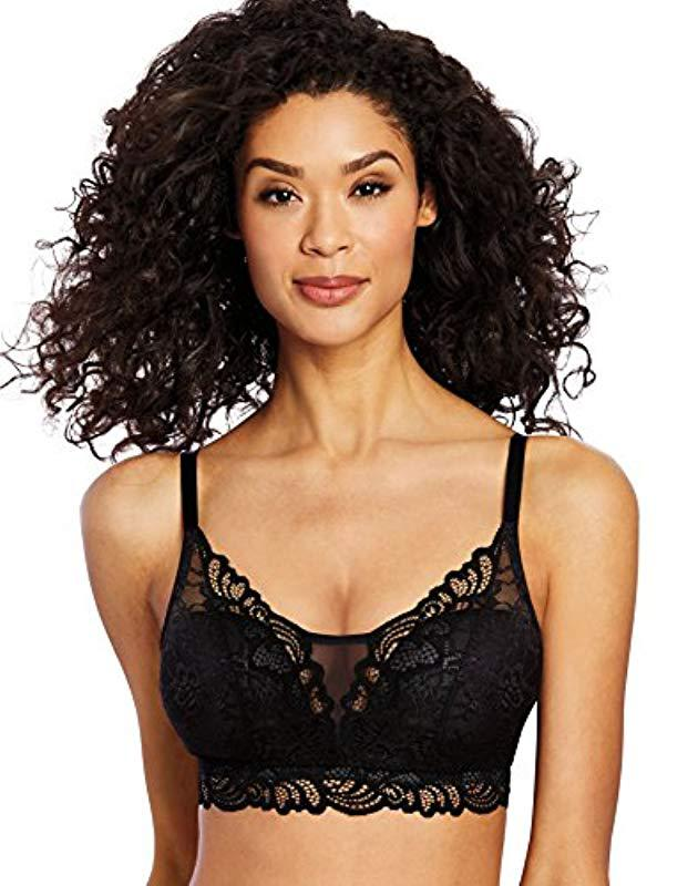 a2f90fcb51cf9 Lyst - Bali Lace Desire Wirefree in Black - Save 43%