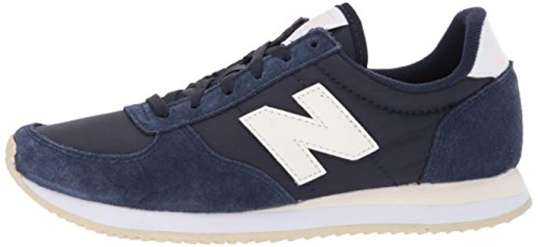 New Balance Synthetic 220 Classic V1 Sneaker in Black/White ...