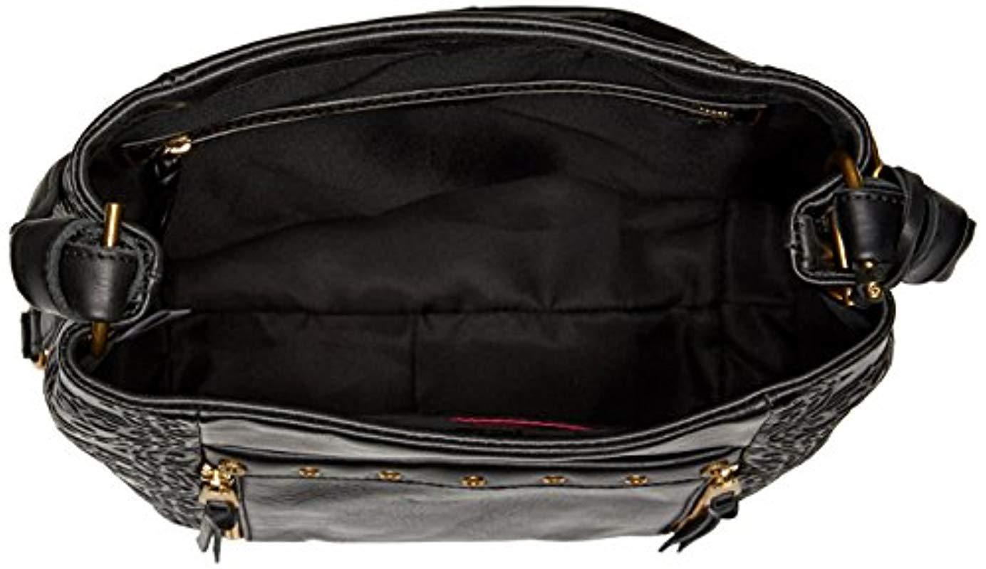 The Sak The Collective Ojai Bucket Bag Black Souk Emboss
