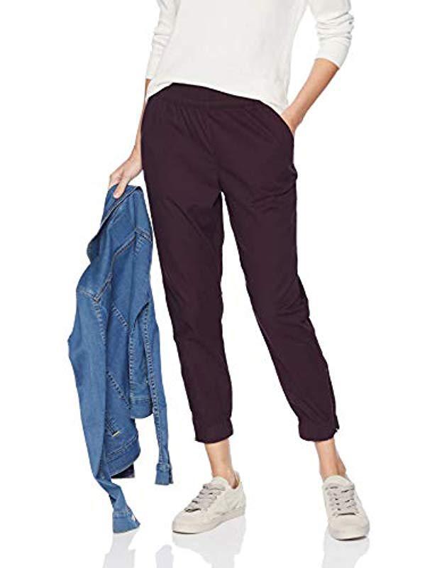 b70706a6d62a7 Lyst - Levi's Jet Set Taper Zip Pants in Purple - Save 41%