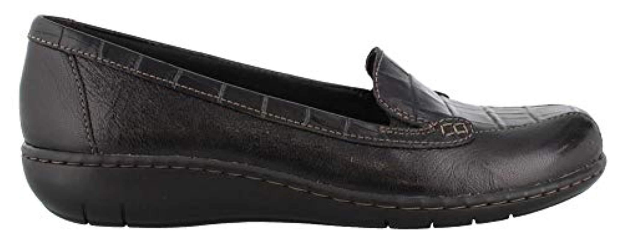 Clarks Denim Bayou Q Loafer in Black