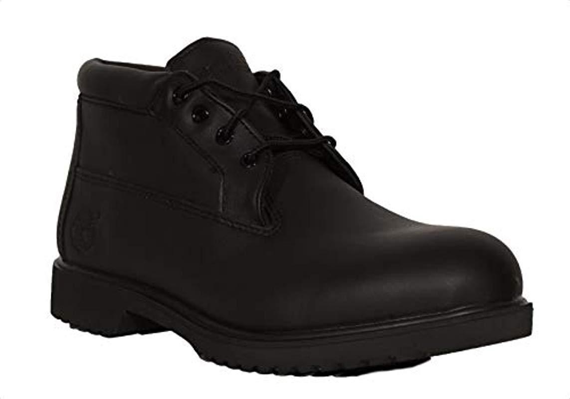 cf284839785 Lyst - Timberland Premium Wp Chukka Newman Boot in Black for Men