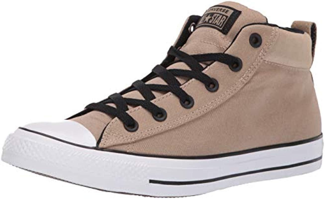 17f24e2ea10 Lyst - Converse Unisex Chuck Taylor All Star Street Suede Mid Top ...