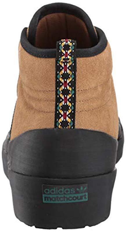 new styles 3a566 092d2 Adidas Originals - Black Matchcourt High Rx3 Running Shoe for Men - Lyst.  View fullscreen