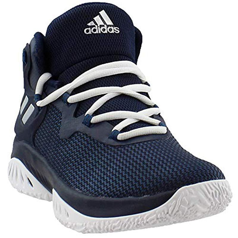 d95cac8ca Adidas - Blue Explosive Bounce Running Shoe for Men - Lyst. View fullscreen