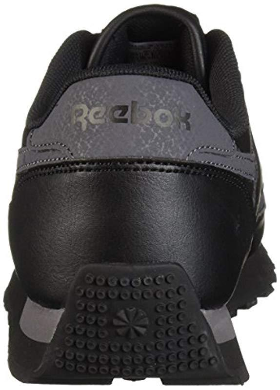 1ed85bda4bbb63 Reebok - Black Classic Renaissance Walking Shoe for Men - Lyst. View  fullscreen