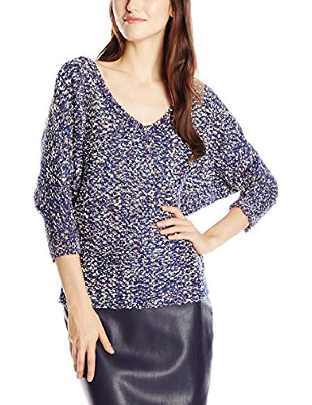 35be5042834 Lyst - Jessica Simpson Marigold Dolman-sleeve Sweater in Blue - Save  48.05194805194805%