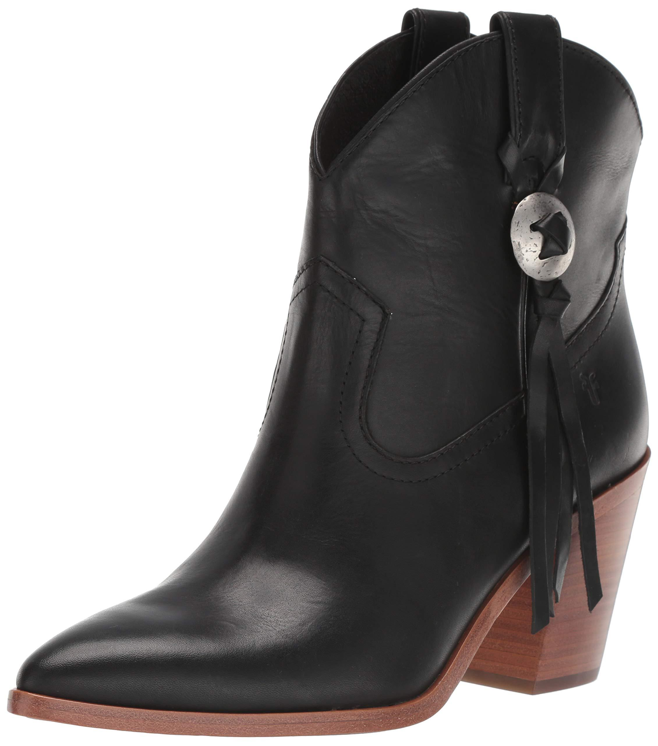 Frye Womens Faye Concho Short Fashion Boot