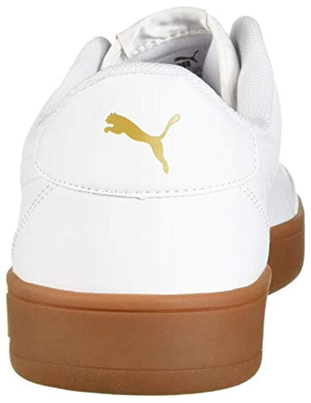 Lyst - PUMA Court Breaker L Mono Sneaker in White for Men ee968f02e