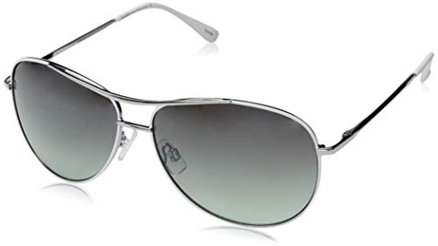 d79179acffad7 Laundry by Shelli Segal. Women s Metallic Ls198 Slv Polarized Aviator  Sunglasses