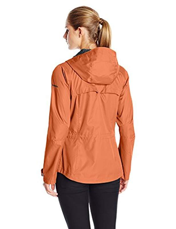 1f1a92d8532 Lyst - Columbia Celilo Falls Plus Size Jacket in Red - Save 63%