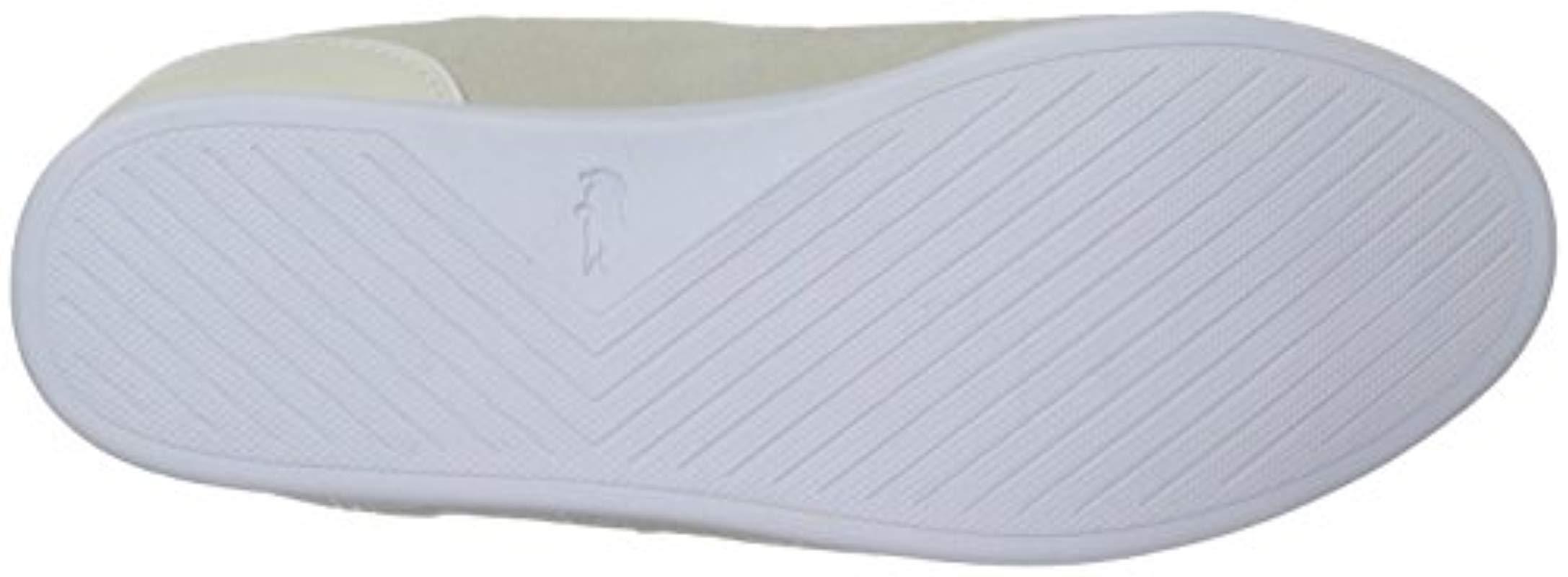 dac4c2580 Lacoste - White Rey Lace Sneaker - Lyst. View fullscreen