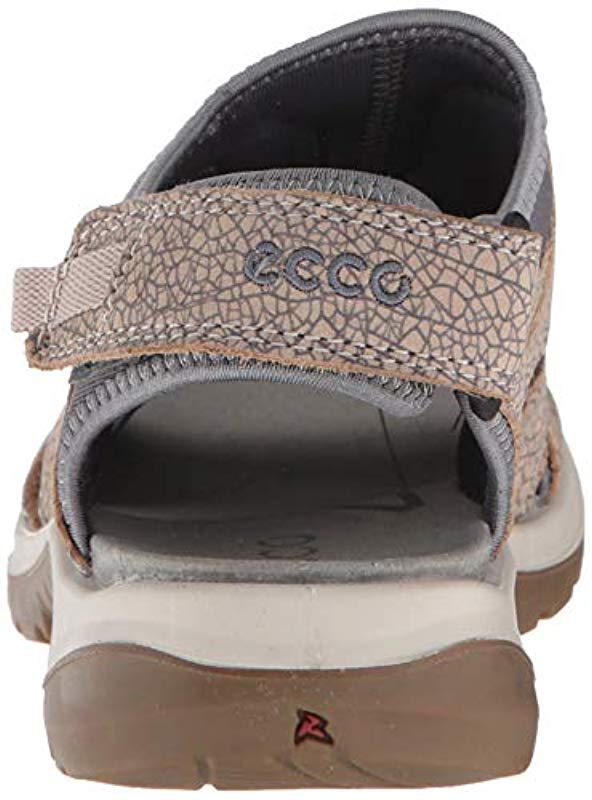 66eabfecf24d4 Lyst - Ecco Offroad Toggle Sandal (nude/marine) Women's Shoes - Save ...