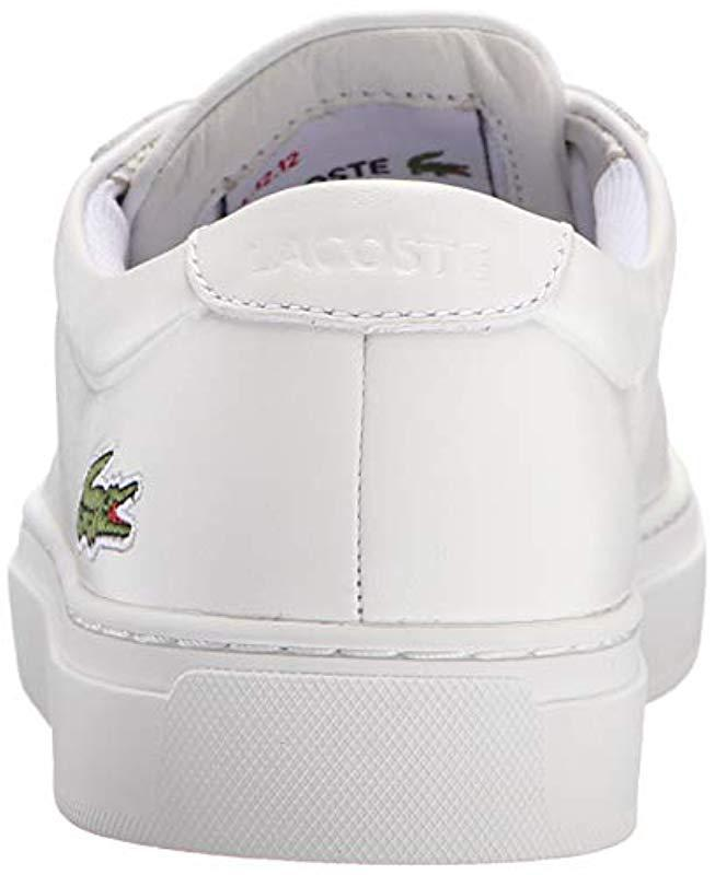 55e5dd6c Men's White L.12.12 116 1 Fashion Sneaker