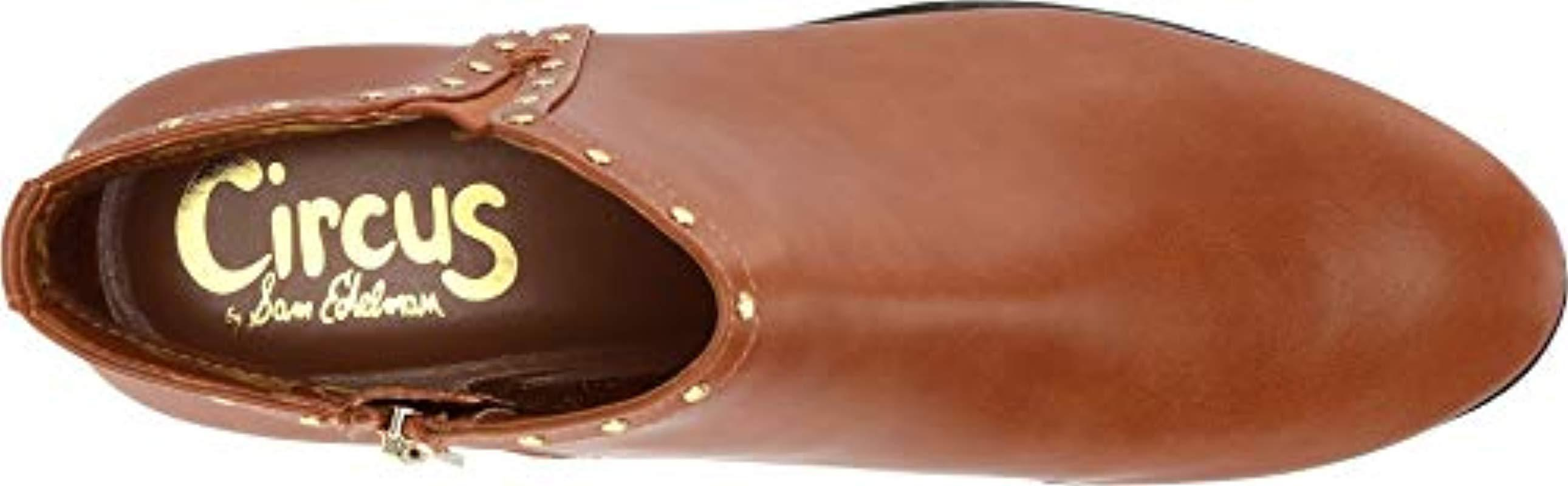 ccdc48eb77e2 Circus by Sam Edelman - Brown Phyllis Ankle Boot - Lyst. View fullscreen