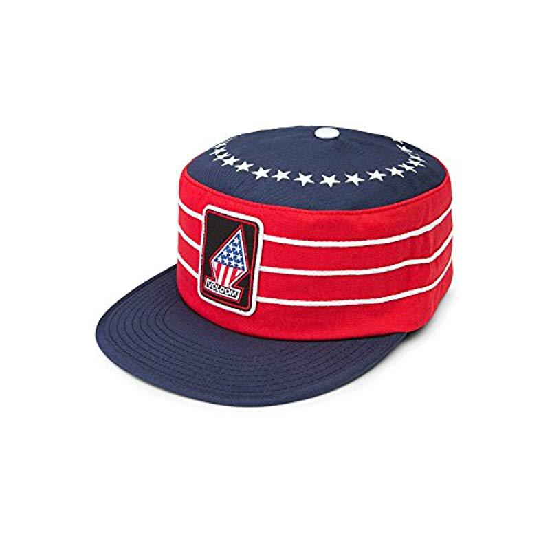 d54b51a3e59 Lyst - Volcom Over Kill Hat in Red for Men - Save 13%