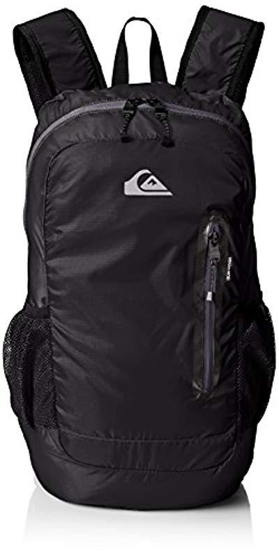 d8263cff8cd2 Lyst - Quiksilver Octo Packable Backpack in Black for Men - Save 23%