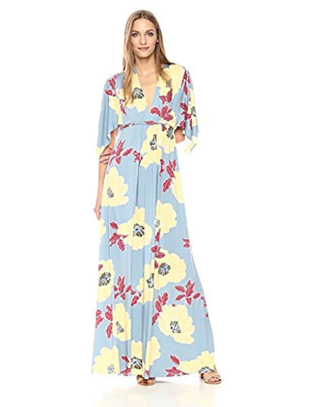 cebd4153bb2 Lyst - Rachel Pally Long Caftan Dress in Blue